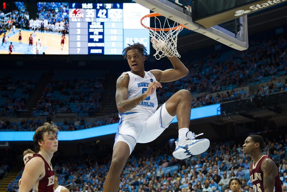 'By far his best game': Armando Bacot's 23-point day vaults UNC over Oregon