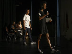 A 2015Ebony Readers/Onyx Theater (EROT) performance.