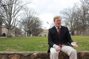 Noah Lieberman, a UNC senior majoring in math and political science, is preparing to run for a North Carolina House of Represenatives seat.
