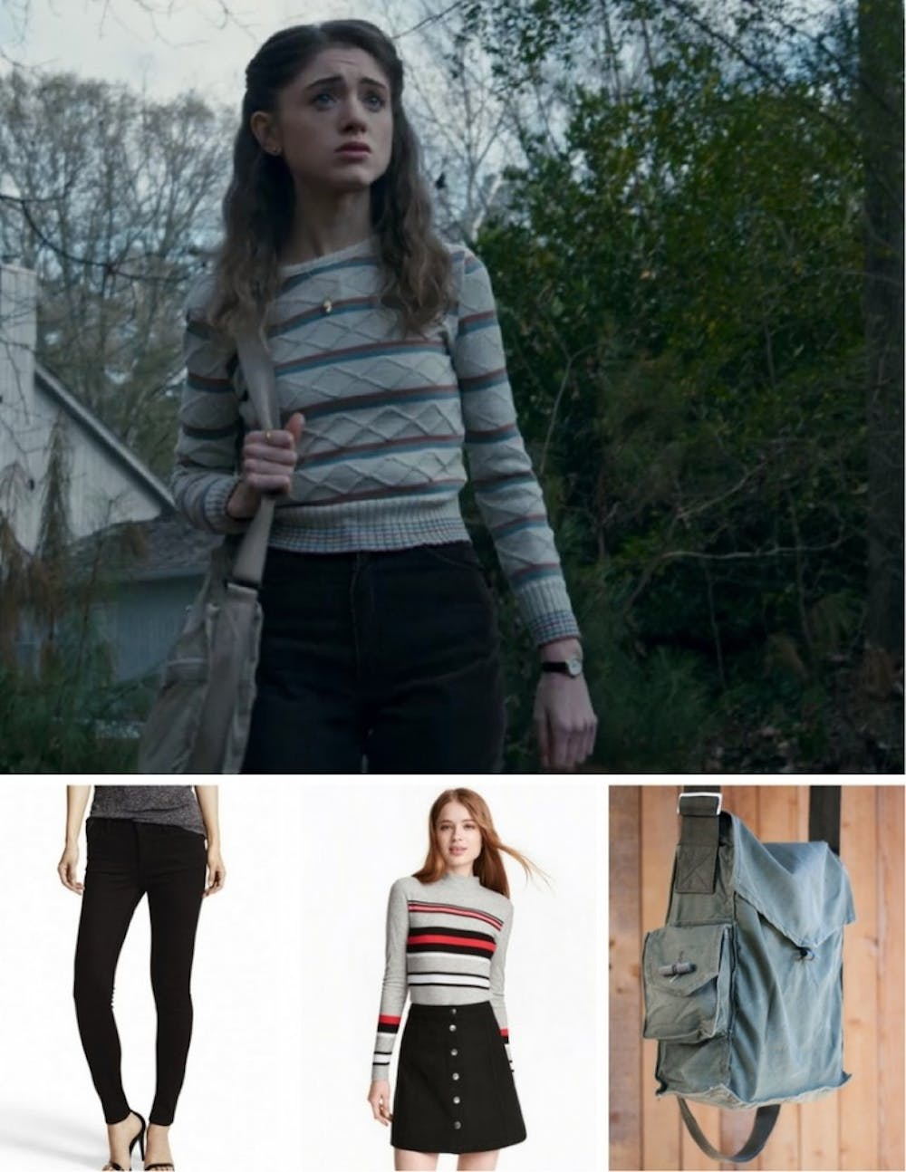 Back To School Style How To Dress Like Nancy Wheeler From