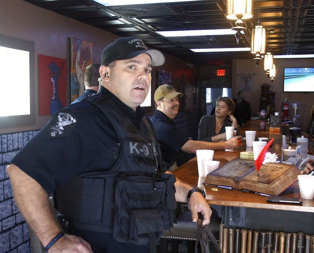 Police officer enjoys Kava with a cop at local Carrboro shop: Krave