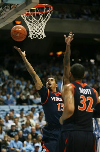 Uva.'s Sylven Landesberg beat the Tar Heel defense on several occasions Sunday night. DTH/ Andrew Johnson
