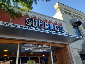 Sup Dogs has two locations in Chapel Hill and Greenville.