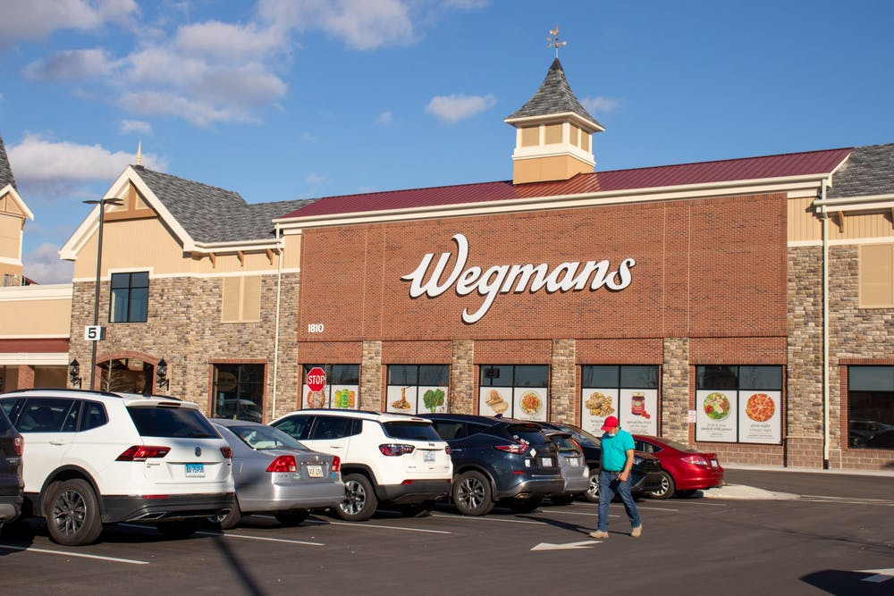 The newly opened Wegmans store in Chapel Hill on Wednesday, Jan. 27, 2021.