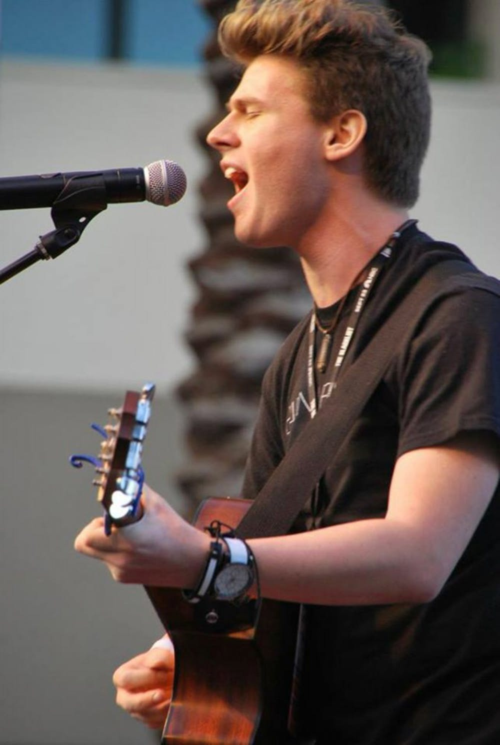 <p>19-year-old pop singer Tyler Matl will be performing at OMG Music Fest at Cat's Cradle in Carrboro tonight.</p>