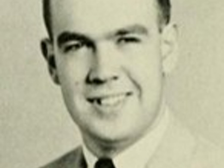 CBS newsman Charles Kuralt in 1955