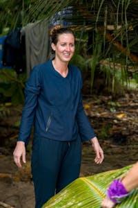 "Alison Raybould on ""Survivor."" Photo courtesy of David M. Russell/CBS."