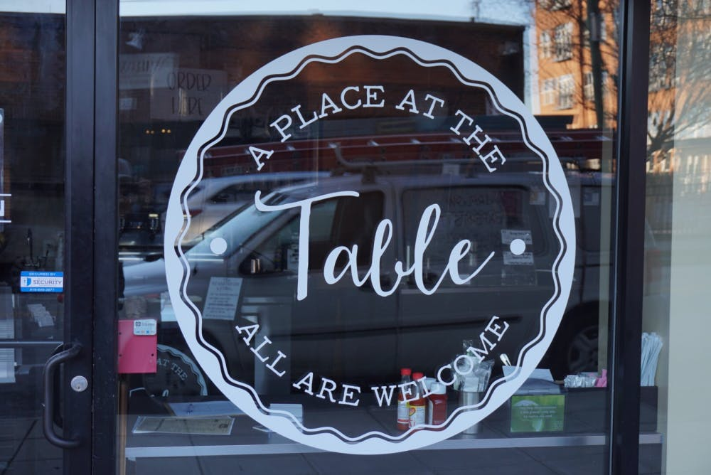 <p>A Place At The Table is the only pay-what-you-can cafe in Raleigh, NC and provides food for people regardless of their ability to pay. Photo by/courtesy of Chase Morales.&nbsp;</p>