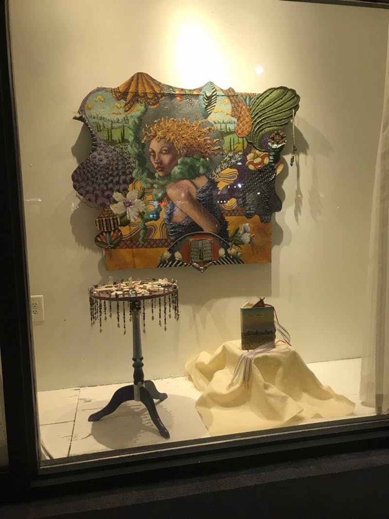 The Art of Enjoyment at The Franklin Hotel will host the artwork of Sudie Rakusin. Photo by Besty Bertram.