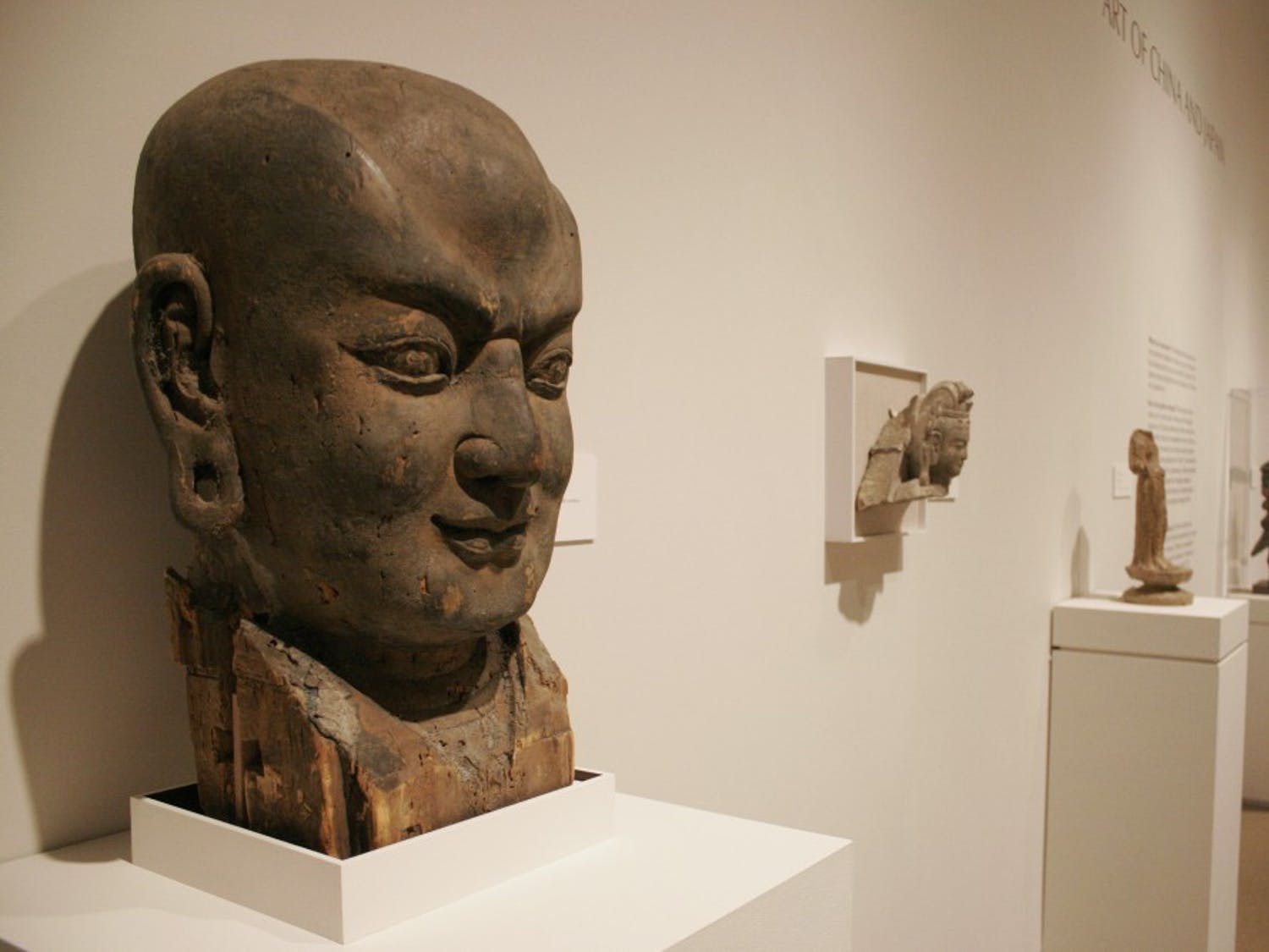 Japanese and Asian art exhibitions are on display at the Ackland.