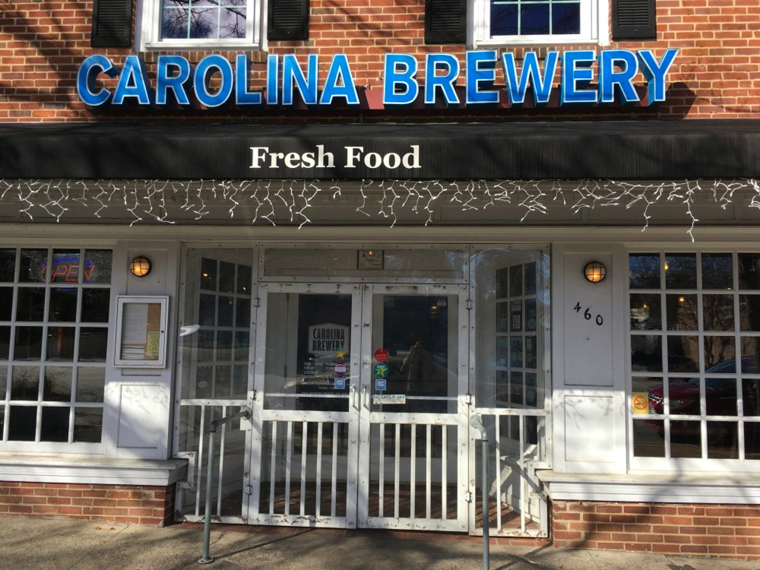 Carolina Brewery store front courtesy of the DTH