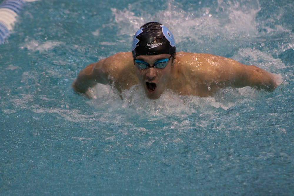 UNC swimming and diving opens its season with a pair of losses to N.C. State