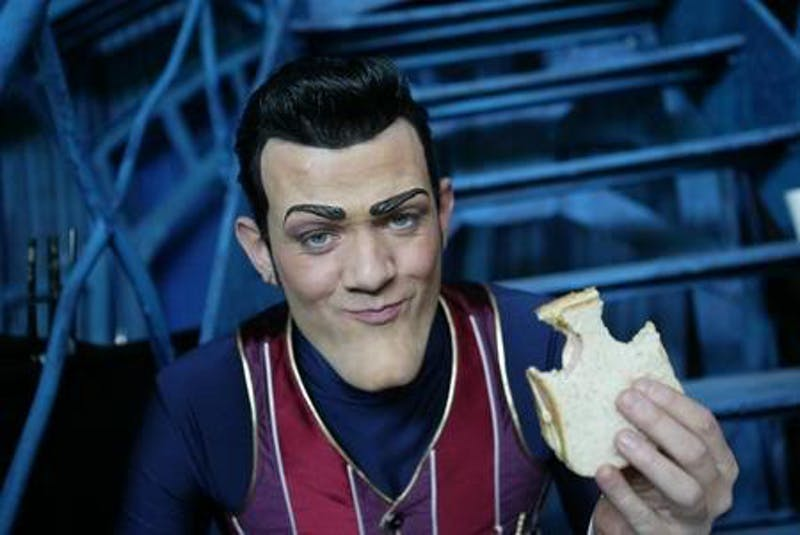 "Robbie from ""Lazytown""Photo taken from VilliansTournamentWiki"