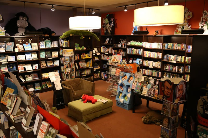 The interior of Flyleaf Books. Photo courtesy of Jamie Fiocco.