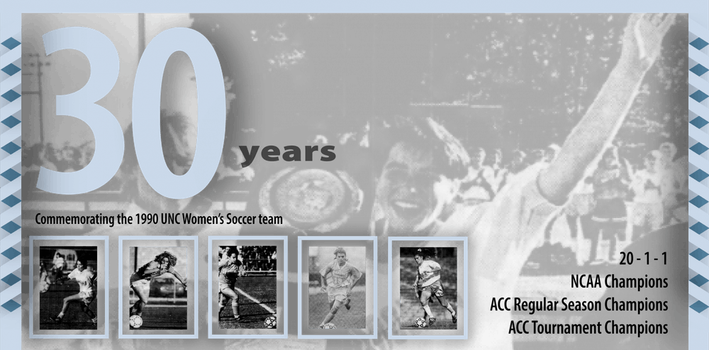 'We get championships': Reliving the highs, lows of UNC women's soccer's 1990 title run