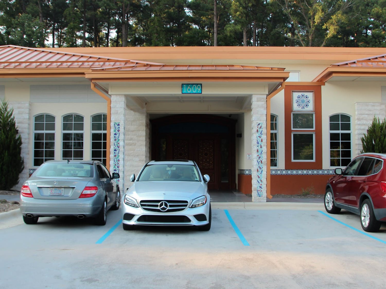 The Sancar Turkish Cultural and Community Center was photographed in Chapel Hill on Aug. 23, 2021. The center was founded by Drs. Gwen and Aziz Sancar.