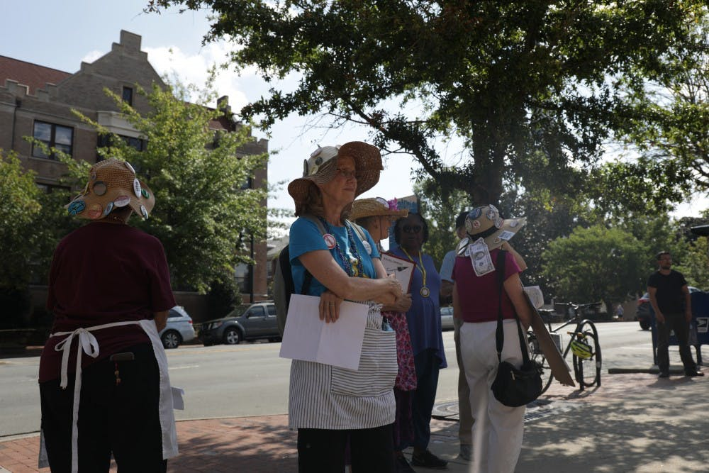 Local NAACP holds peace rally in Spencer's absence