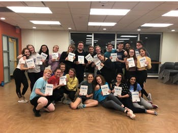 """""""Mamma Mia"""" is running from April 5-8 at 7:30 p.m.at the Carrboro ArtsCenter. There will be additional matinees on Saturday and Sunday at 2 p.m. Photo courtesy of Hannah Whittington."""