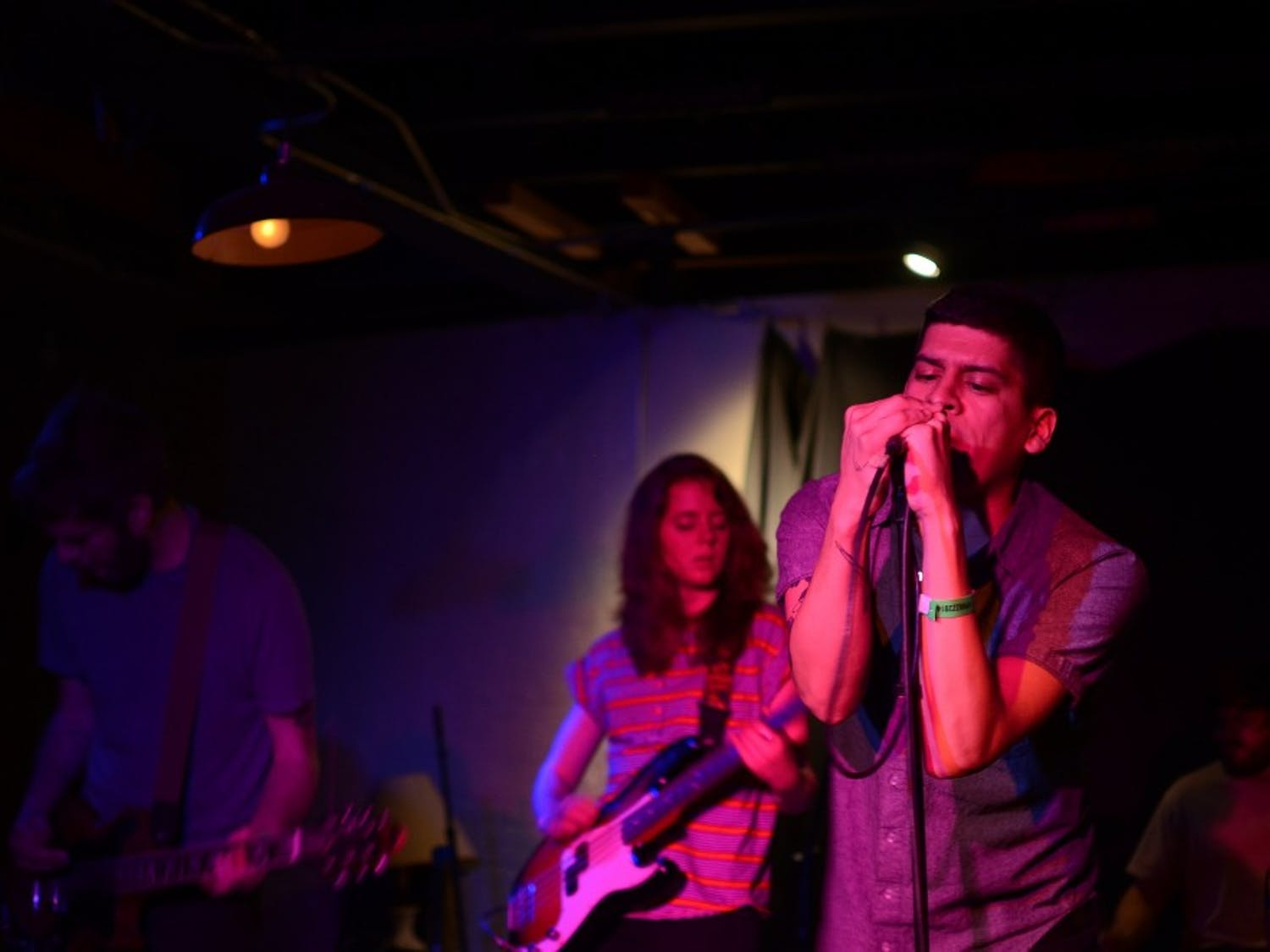 Ex-Cult performs live at the 2014 Phuzz Phest in Winston-Salem.