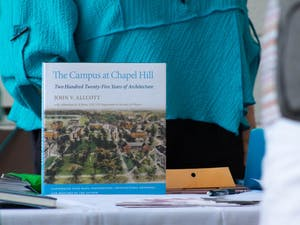 """""""The Campus at Chapel Hill"""" by John V. Allcott was recently updated with an addendum by UNC Visual Resources Curator and Teaching Assistant Professor JJ Bauer."""