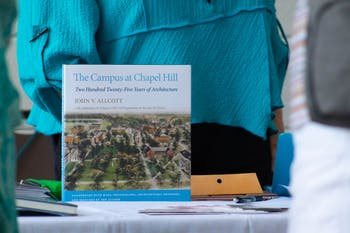 """The Campus at Chapel Hill"" by John V. Allcott was recently updated with an addendum by UNC Visual Resources Curator and Teaching Assistant Professor JJ Bauer."