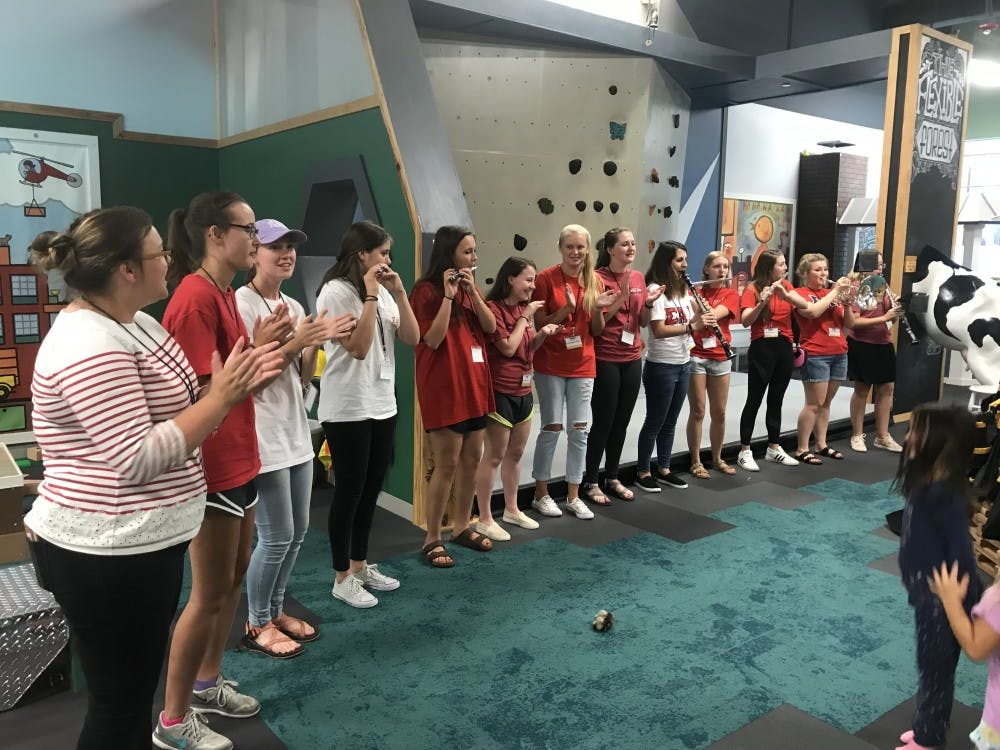 Musical Greek life at UNC finds their harmony in community service