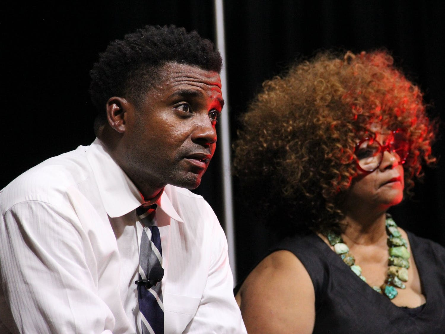 """Mike Wiley, producer of Playmakers Repertory Company's latest virtual series, """"Higher Ground Conversations."""" Photo courtesy of Wiley."""