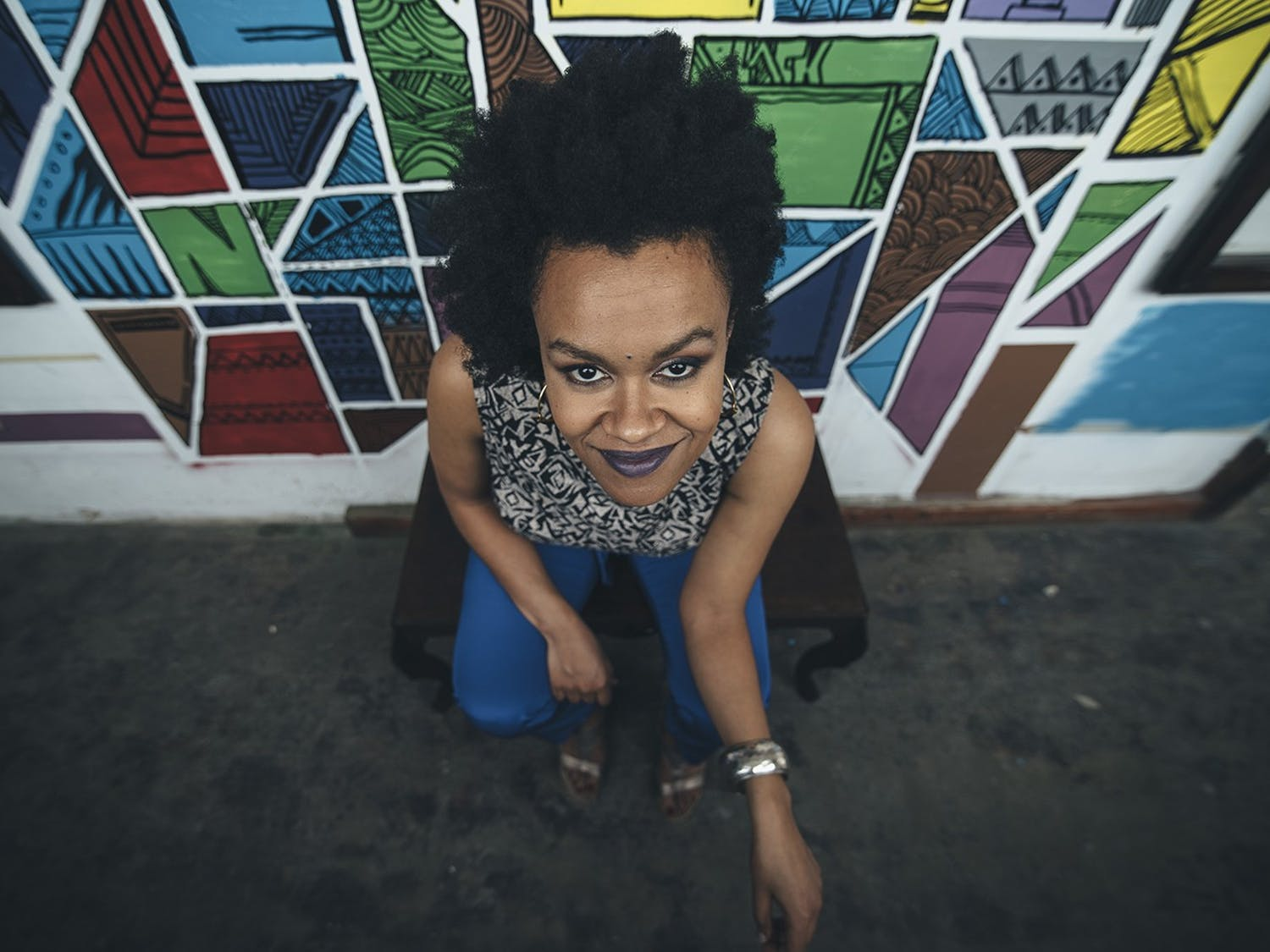 Ethiopian American songwriter and composer Meklit Hadero is coming to UNC to perform at Memorial Hall on Monday, March 16 at 7:30 p.m. Photo courtesy of John Nilsen.