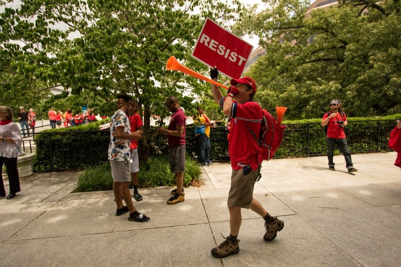 North Carolina educators and supporters rally for education