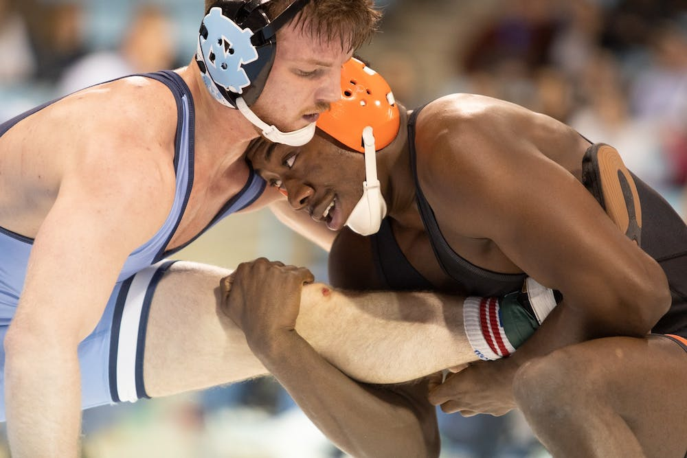 'What we've been striving towards': UNC wrestling continues hot start with Princeton win