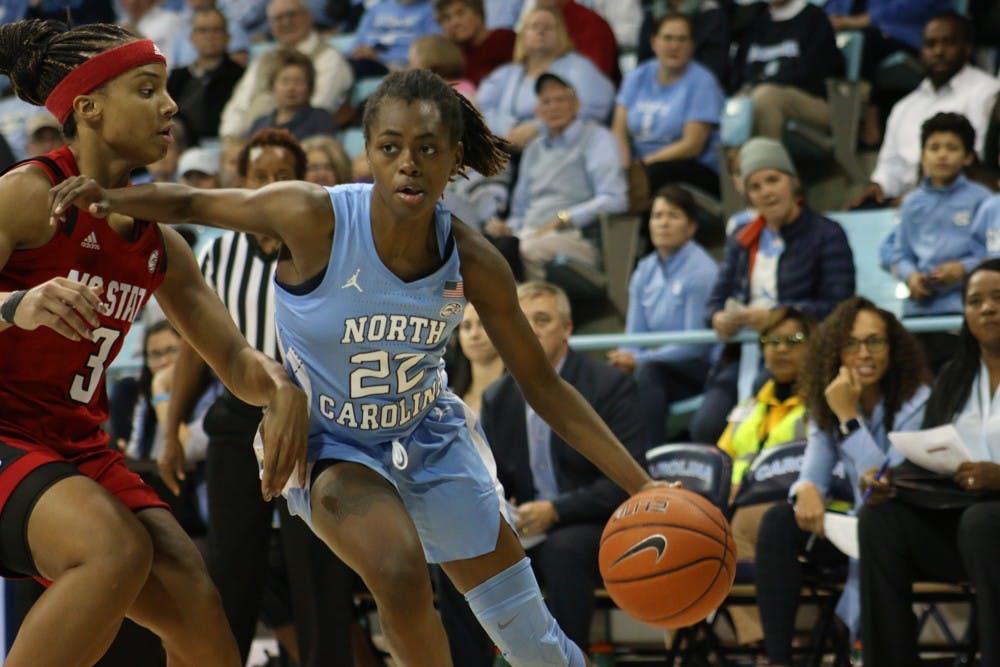 Recap: UNC women's basketball topples ninth-ranked N.C. State, 66-60
