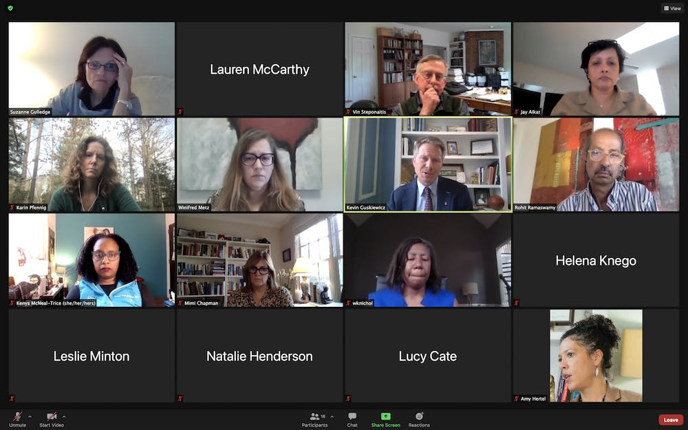 <p>The Advisory Committee meet virtually on Thursday, Jan. 21, 2021 to discuss spring COVID-19 testing.</p>