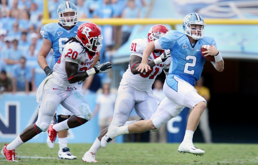 Turnovers plague Tar Heels in victory over Rutgers