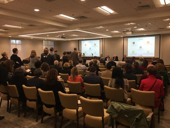 The Board of Governor's meeting on Thursday hosting a strategic plan forum.
