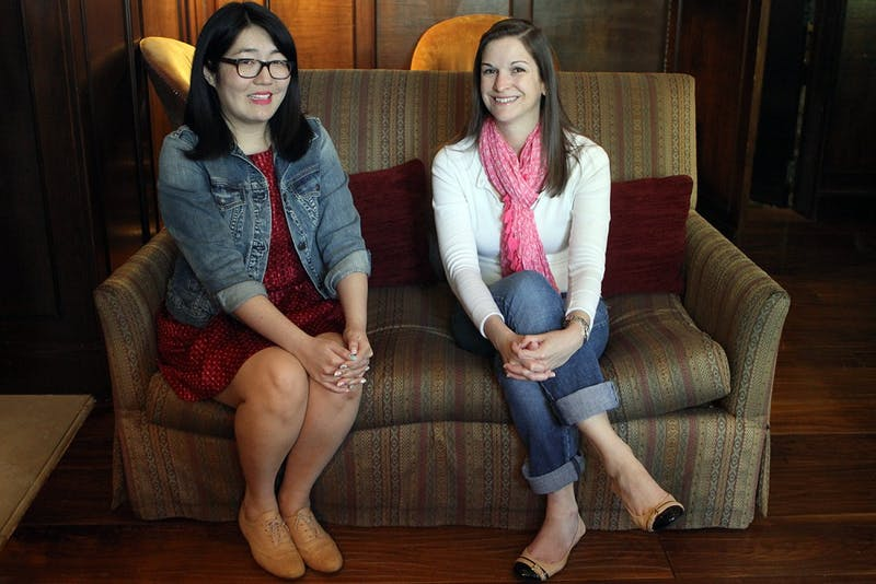 "Authors Jenny Han and Sarah Dessen will speak at Flyleaf Books Thursdsay night. Han will discuss her new YA novel ""To All the Boys I've Loved Before,"" and  Dessen will discuss her eleventh novel, ""The Moon and More."""