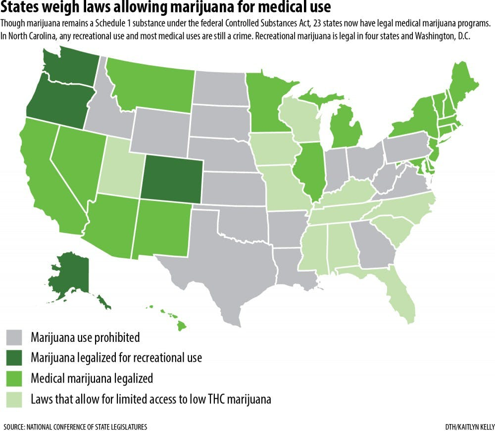 Lawmakers weed out medical marijuana - The Daily Tar Heel