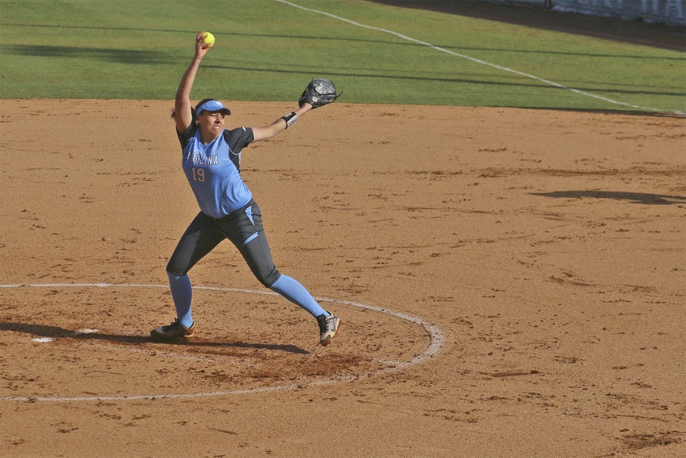 Youth movement leads UNC softball past Virginia Tech