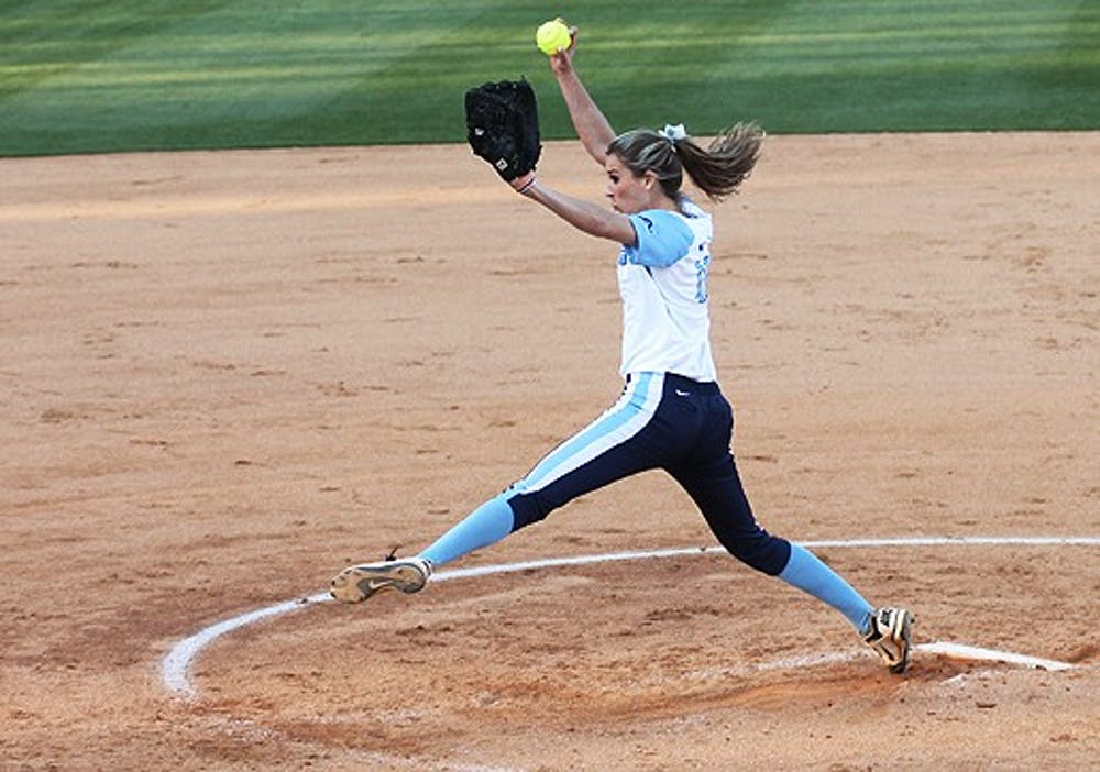 UNC softball takes two of three from Virginia Tech
