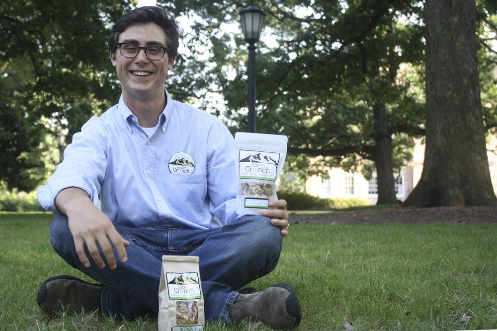Sophomore Jack Paley started his company Aspen Crunch in 2011
