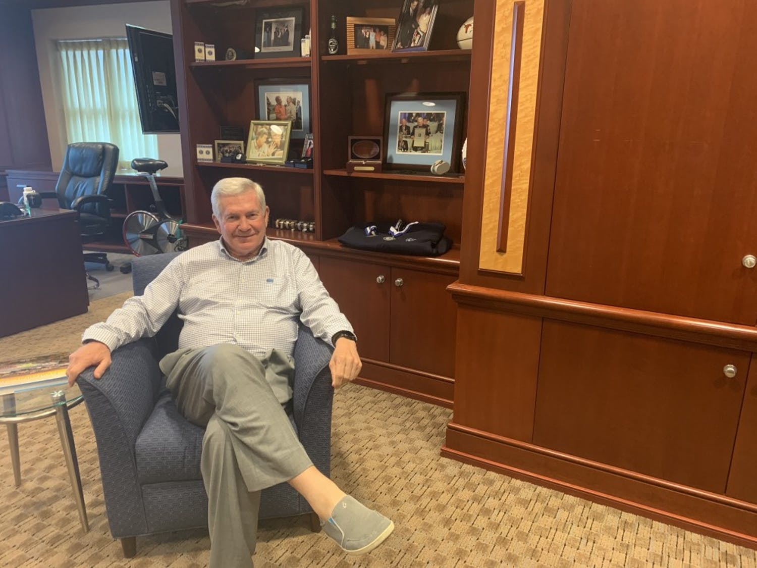 Mack Brown, the head coach of the football team, sat down with The Daily Tar Heel to talk about the upcoming season.