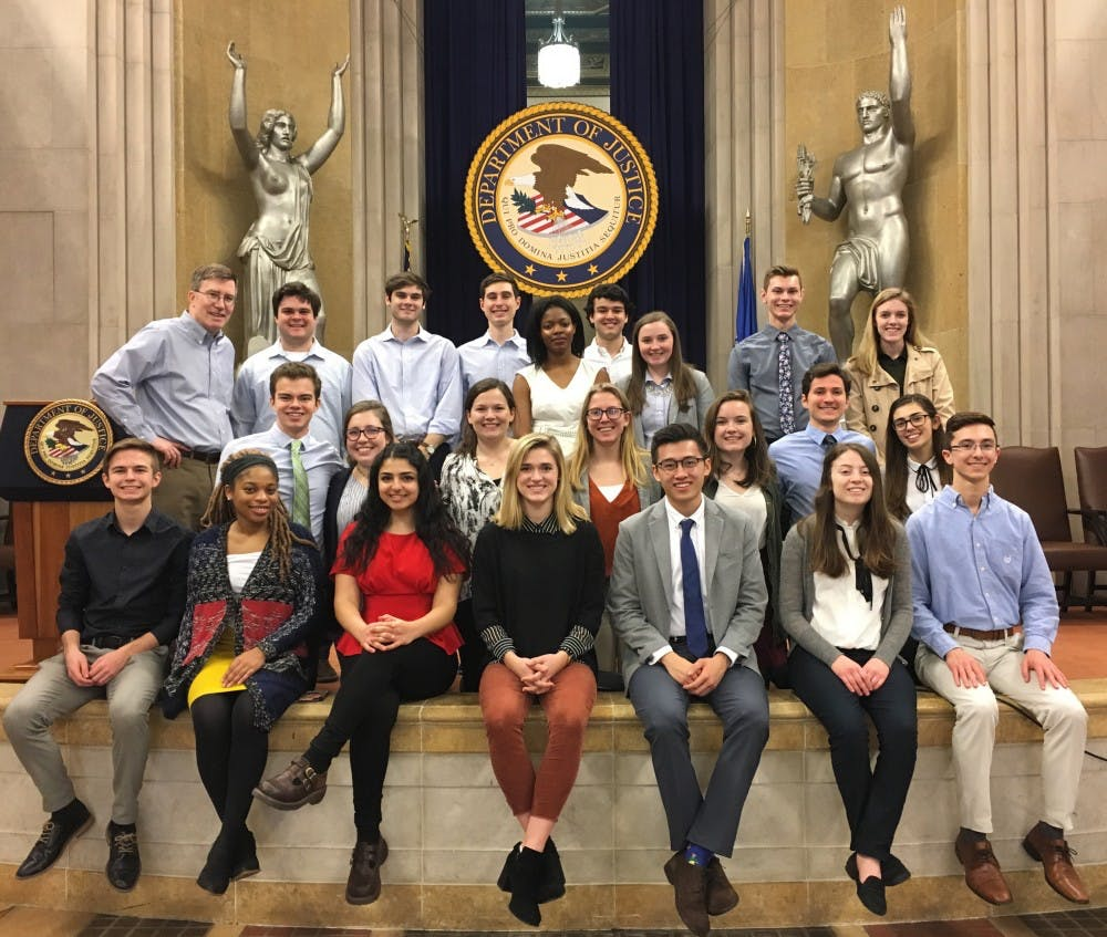 UNC students study domestic and global policy issues in the nation's capital