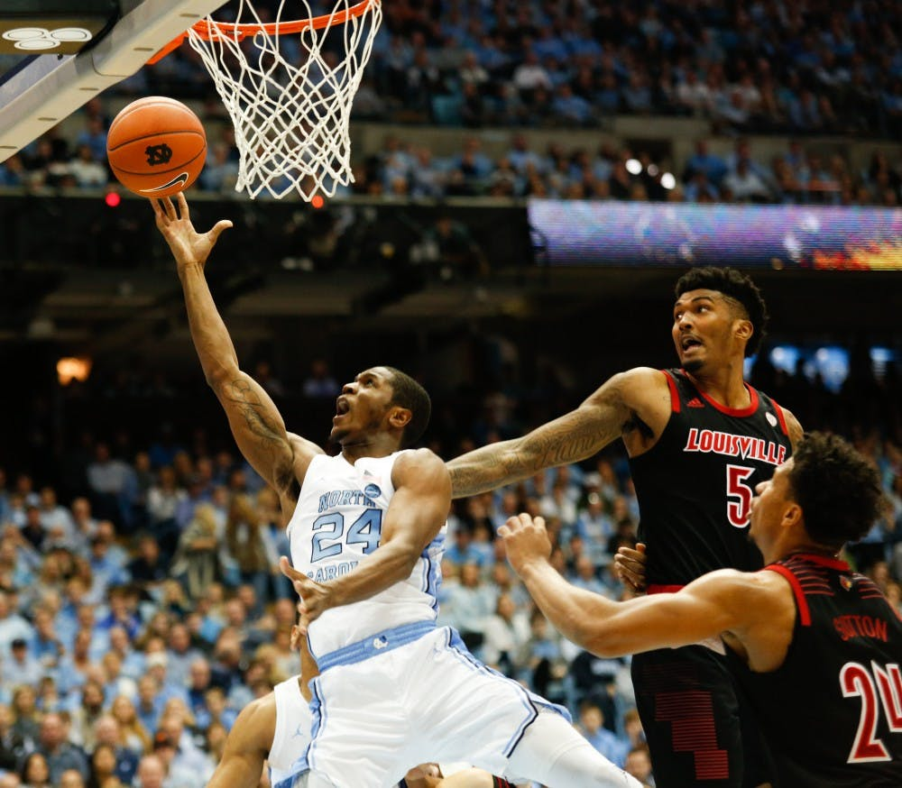 The key factor that helped UNC men's basketball beat Louisville, 79-69