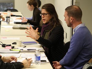The UNC Sexual Assault Task Force held a meeting on Jan. 7, 2014 at the Friday Center.