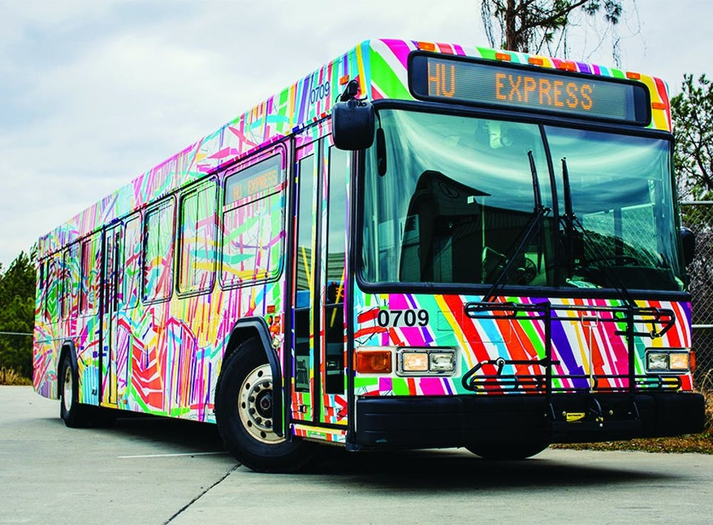 'Mobile Mural' bus takes art to the streets