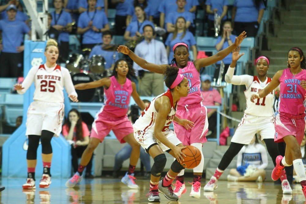 Tar Heels blow 17-point lead in 80-66 loss to N.C. State