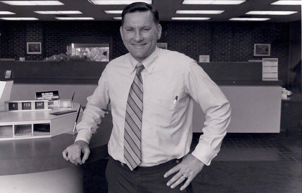 Chamber of Commerce honors Eddie Mann, former Savings and Loan president