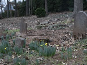 The Christopher and William Barbee Family Cemetery pictured on Jan. 24, 2020. The cemetery was active in the 18th and 19th century and where William Barbee and his relatives were buried. Nearly 100 enslaved people are buried in unmarked graves.