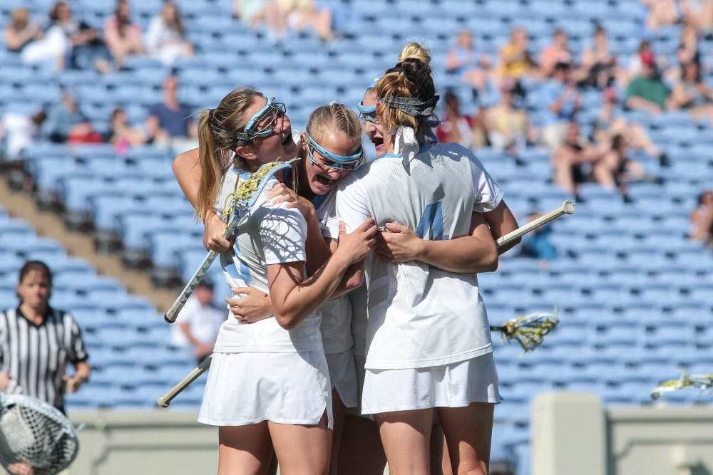 UNC women's lacrosse spreads scoring, advances past Virginia Tech to NCAA third round