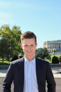 Graeme Strickland ran as a write-in candidate for a student senate seat, and won. Photo courtesy of Strickland.