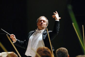 Courtesy of Carolina Performing Arts.  	Russia's Mariinsky Orchestra, conducted by the world renowned Valery Gergiev, performed Tuesday evening in Memorial Hall.